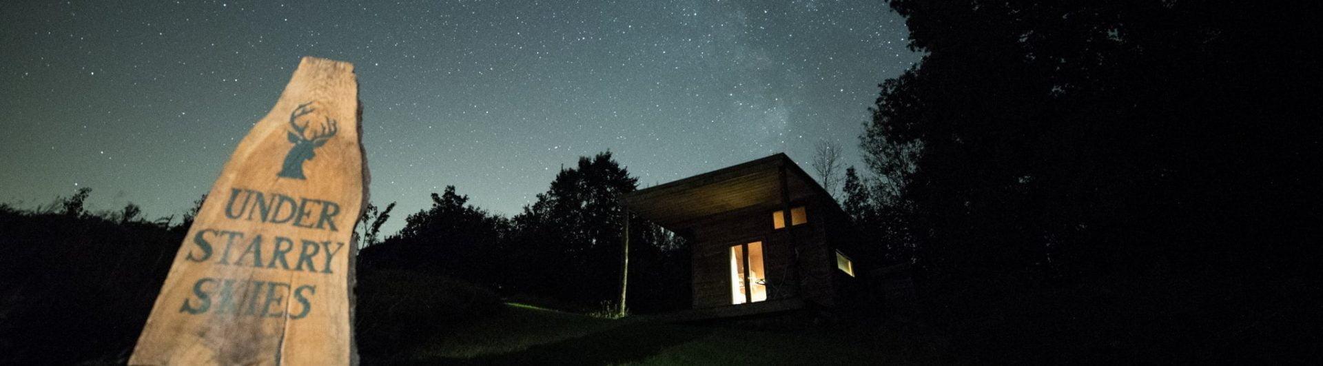 Derwen under the Milky Way