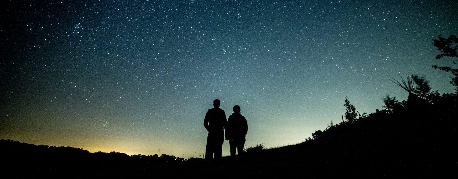 stargazing over the Brecon Beacons
